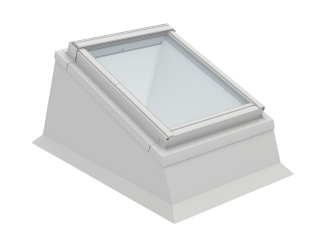 VELUX - ECX MK08 0000T - Insulated kerb for installation of RW in flat roof,0-15 degrees,78x140