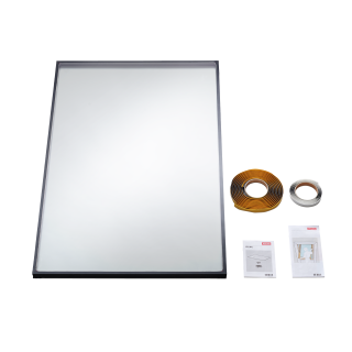 VELUX - IPL FK06 0070 - 24 mm double glazed replacement pane for V22 roof windows, 66x118